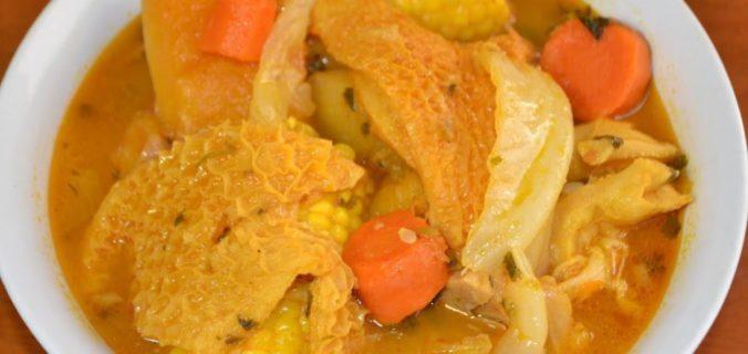sopa de mondongo recipe