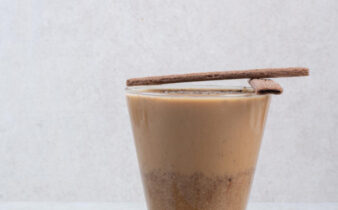 a cup of cacao drink, popular drink in Nicaragua